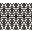 Seamless Black And White Geometric Circle vector image
