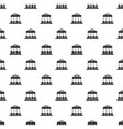 car carousel pattern seamless vector image vector image
