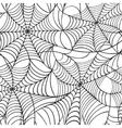 Cobweb seamless pattern vector image vector image