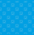 gay couple pattern seamless blue vector image vector image