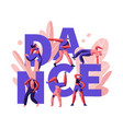 happy people clubbing and dancing disco vector image
