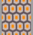 hexagon pattern vector image vector image