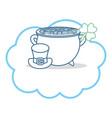irish pot design vector image