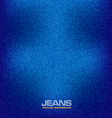 jeans material textured background deni vector image