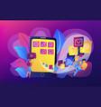 mobile application development vector image vector image
