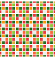Seamless pattern abstract square pixel mosaic vector image vector image