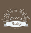 vintage hand drawn sketch style fresh bread for vector image vector image