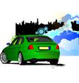 al 0434 car sedan 02 vector image vector image