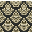 Classic floral damask seamless pattern vector image vector image