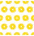 orange citrus pattern vector image vector image