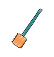 slotted vector image vector image