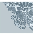 Abstract floral background for design vector image