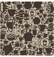 Background coffee vector image vector image