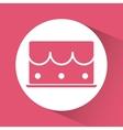 Birthday cake desserts vector image