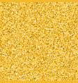 glitter golden background vector image vector image