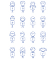 Kid Numbers And Symbols vector image
