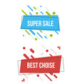 modern abstract banners set vector image vector image