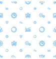 progress icons pattern seamless white background vector image vector image