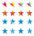 Star design logo vector image