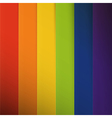 Abstract colorful rainbow stripes background vector image