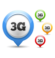 3G Icon vector image vector image