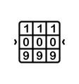 combination vector image vector image