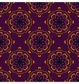 indian seamless circle pattern vector image vector image