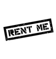 Rent me rubber stamp vector image vector image