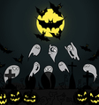 Set of for Halloween party vector image