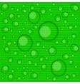 Abstract backgrounds with water drops vector image