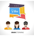 Brainstorming Concept vector image