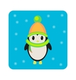 Penguin Icon flat vector image