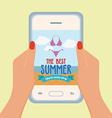 Summer Vacation Promotion vector image vector image