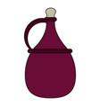 wine antique jar vector image vector image