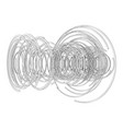 abstract futuristic hud object vector image vector image