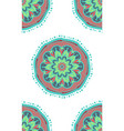 boho ethnic seamless pattern vector image vector image