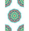 boho ethnic seamless pattern vector image