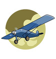 Classic Airplane2 vector image vector image