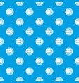 modern volleyball pattern seamless blue vector image