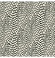 pattern with zigzag black lines vector image vector image