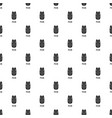 pecan pattern seamless vector image vector image