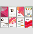 pink and orange backgrounds and abstract concept vector image