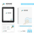 search on cloud business logo tab app diary pvc vector image vector image
