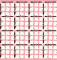 watercolor checks and stripes seamless pattern vector image