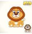 Cartoon Lion Character vector image
