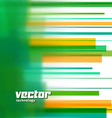 background with green blurred lines vector image