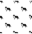 Collie icon in black style for web vector image vector image