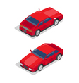 Isometric Transportation Sport Car Isometric Car vector image