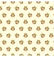 Owls cute pattern vector image vector image
