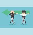 business team creative idea teamwork vector image